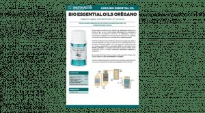 Ficha técnica Bio Essential Oils Orégano Perlas