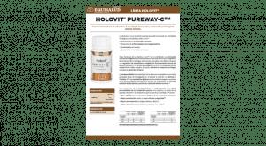 Ficha técnica Holovit PureWay-C