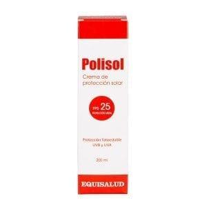 Polisol, uso externo. Crema solar