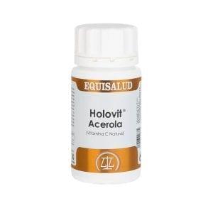 Holovit Acerola (Vitamina C natural) 50 cápsulas