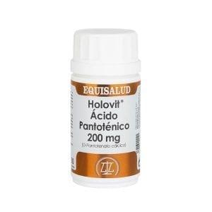Holovit Ácido Pantoténico 200 mg (D-Pantotenato cálcico) 50 cápsulas