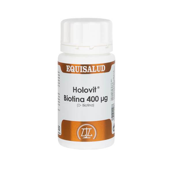 Holovit Biotina 400 µg (D-Biotina) 50 cápsulas