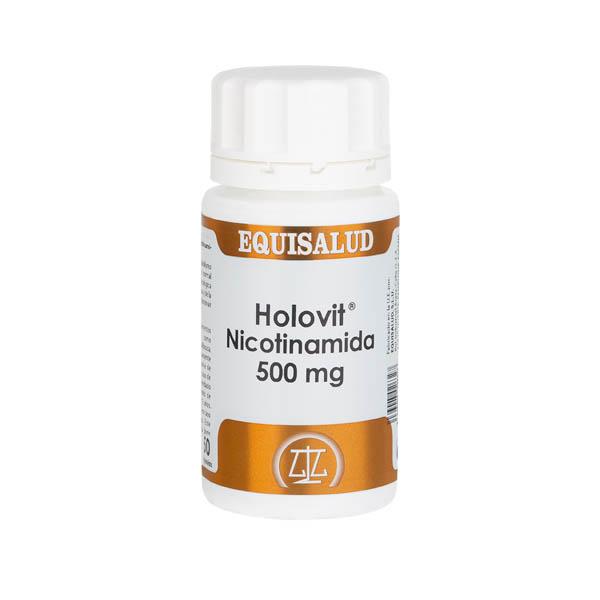 Holovit Nicotinamida 500 mg 50 cápsulas