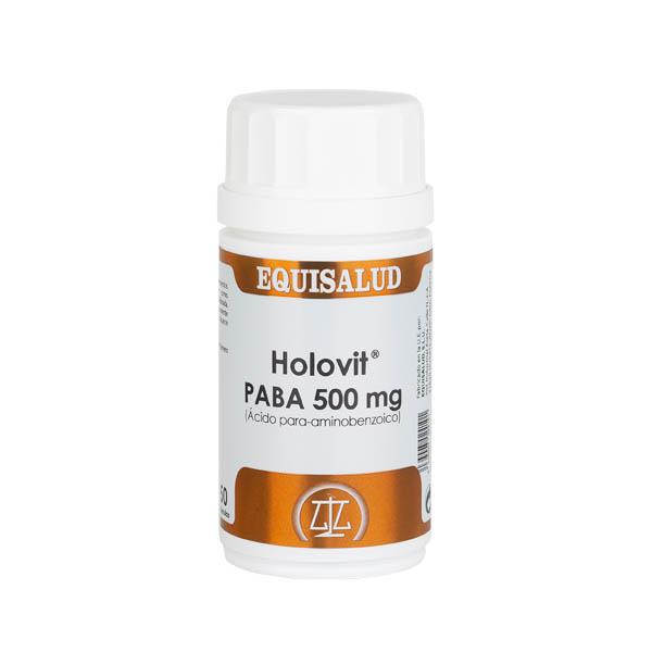 Holovit PABA 500 mg (Ácido para-aminobenzoico) 50 cápsulas