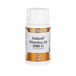 Holovit Vitamina D3 2.000 UI 50 cápsulas