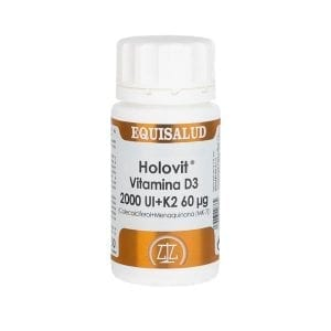 Holovit Vitamina D3 2.000 UI + K2 60 µg 50 cápsulas