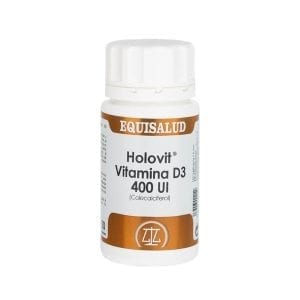 Holovit Vitamina D3 400 UI (Colecalciferol) 50 cápsulas