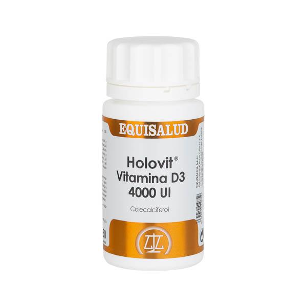 Holovit Vitamina D3 4000 UI 50 perlas
