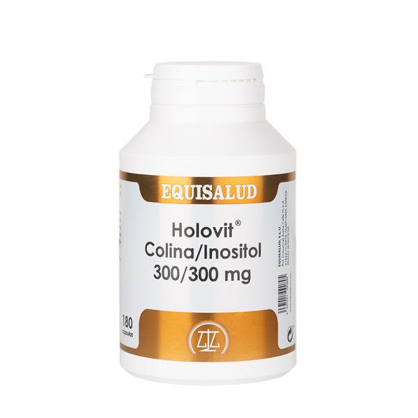 Holovit Colina/Inositol 300/300 mg 180 cápsulas