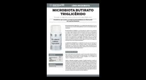 Ficha técnica Microbiota Butirato Triglicérido