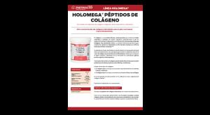 Ficha técnica Holomega Péptidos de Colágeno